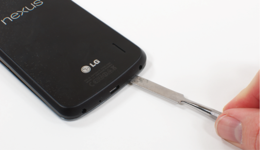 how to open and clean nexus 5