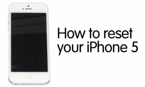 how to reset a iphone 5 how to reset an iphone 5 to factory settings guide recomhub 3365
