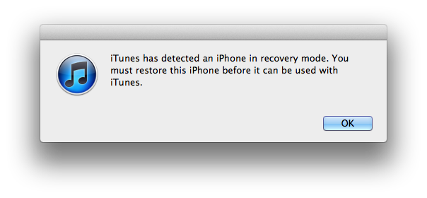 how to get iphone out of recovery mode without restoring