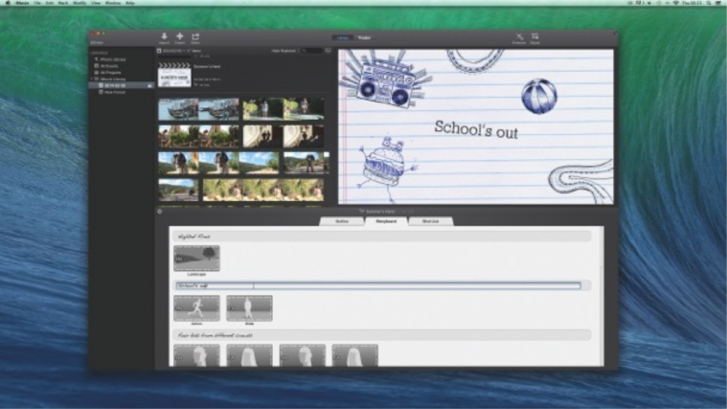 Best imovie trailer templates recomhub for Trailer templates for imovie