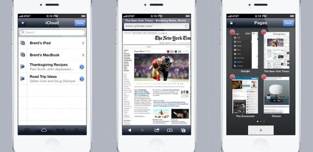 how to get back safari on iphone