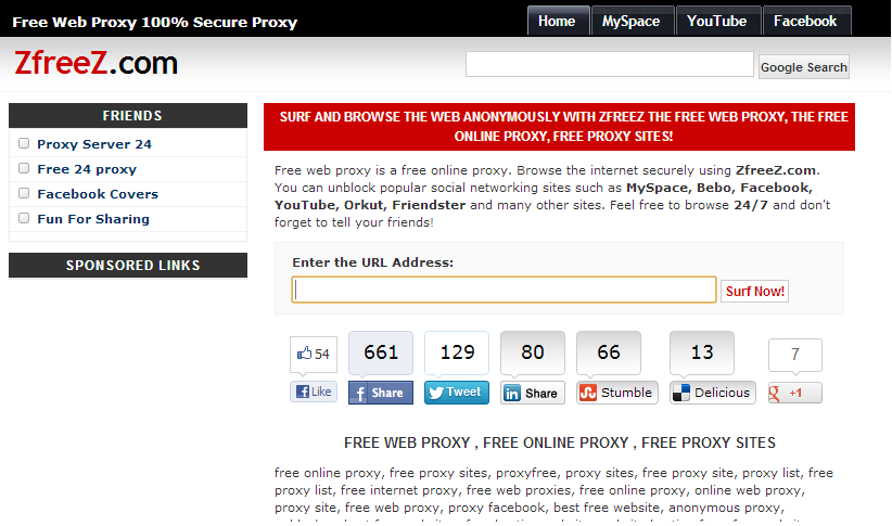 Best Free Proxy Server Websites – Secure & Malware Free ...