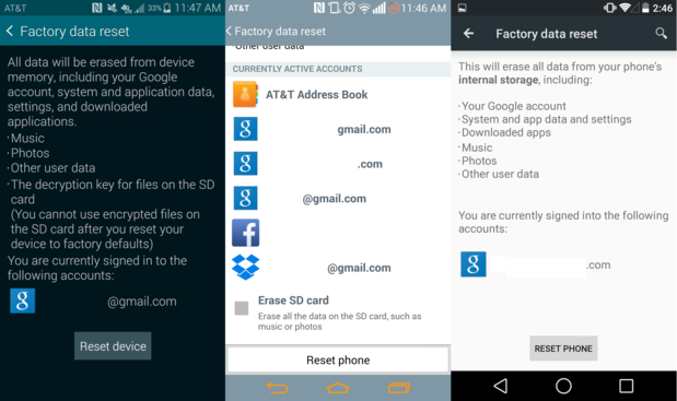 How To Perform Android Factory Reset For Smartphone Or